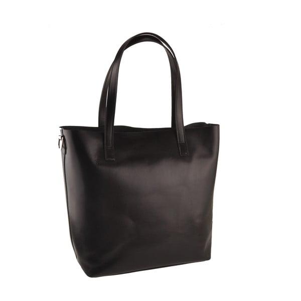Černá kožená kabelka Florence Tangor