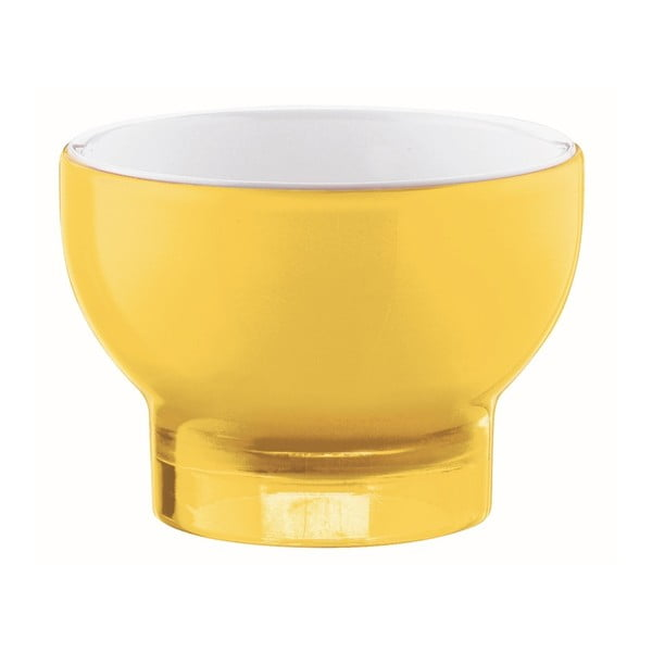 Žlutá miska na zmrzlinu Fratelli Guzzini Vintage