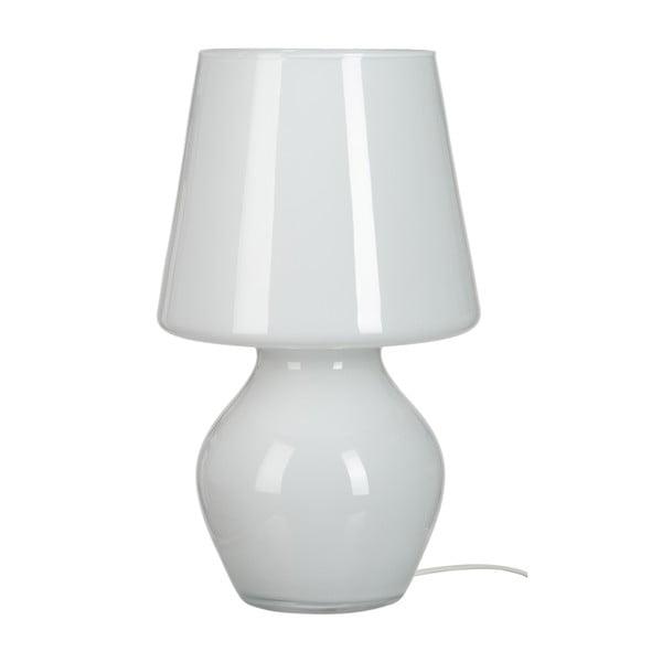 Stolní lampa Harm Glass, 22x37 cm