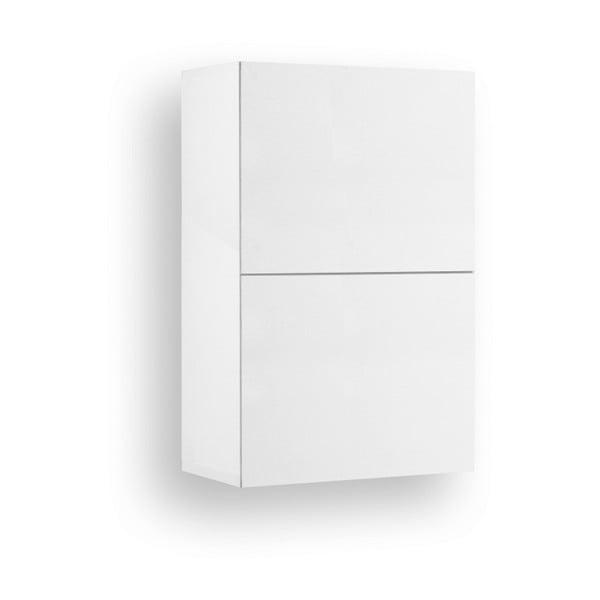 Bílá závěsná komoda se 1 dveřmi Jitona Mamma