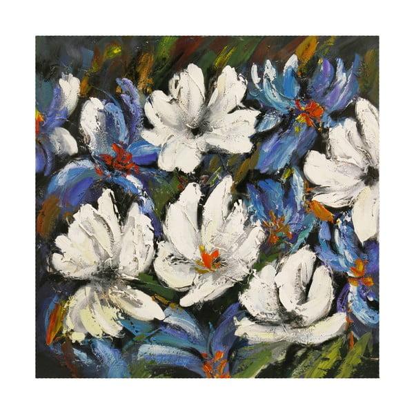 Olejová malba Sensation II, 80x80 cm