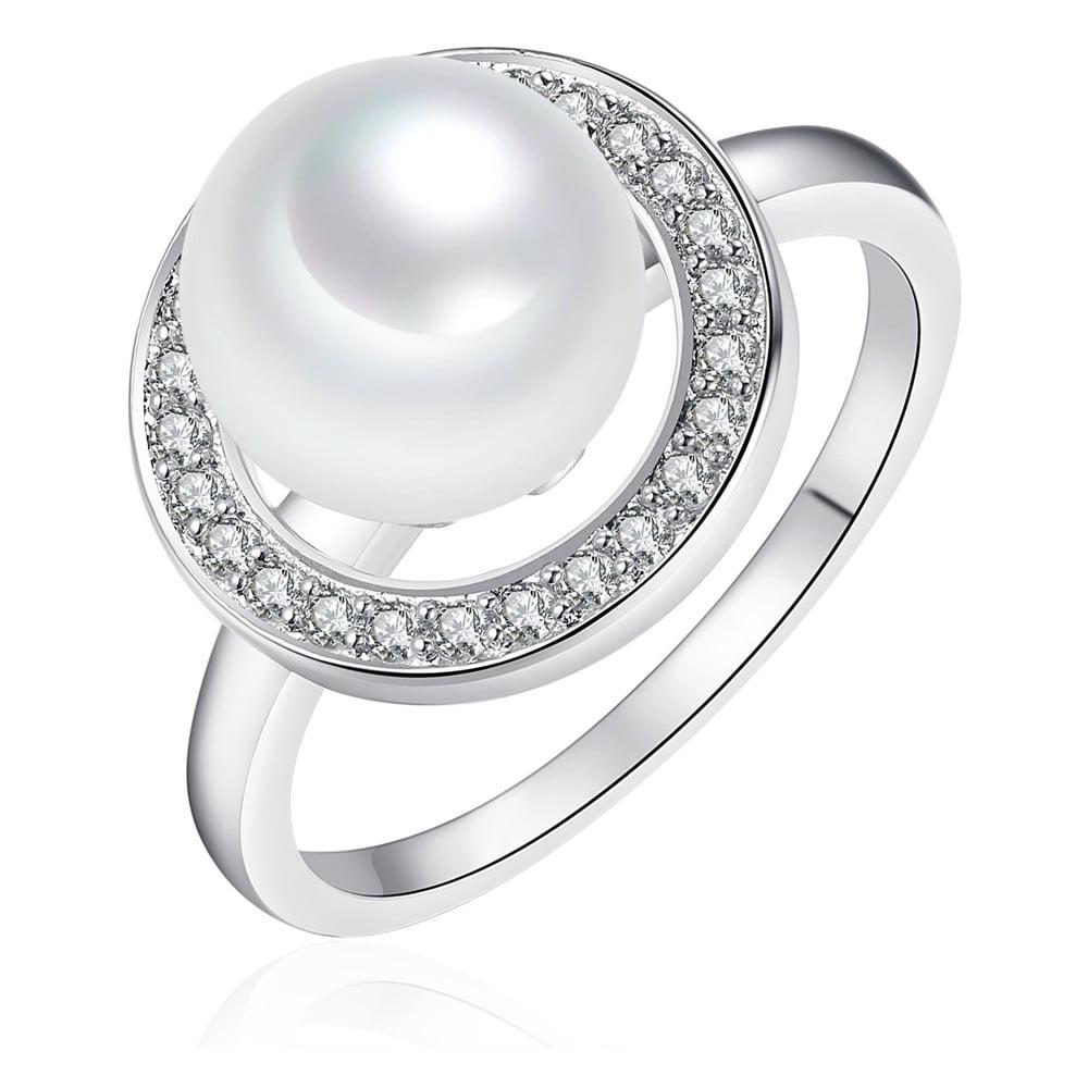 Perlový prsten Pearls Of London Sea,vel.58