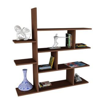 Bibliotecă Motif, maro imagine