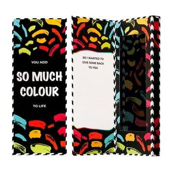 Cutie de cadou pentru șosete Ballonet Socks Love You Socks Card