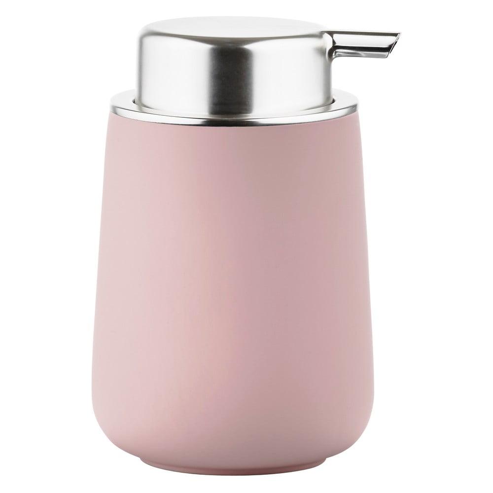 Růžový dávkovač mýdla Zone Nova