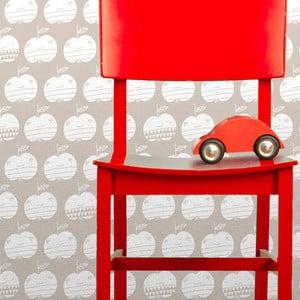 Vliesová tapeta Apples 270x46.5 cm, béžová