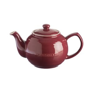 Švestkově fialová kameninová konvice na čaj Mason Cash Original Collection, 1,2 l