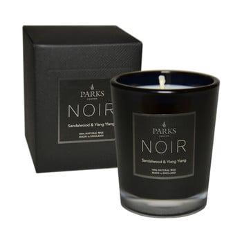Lumânare parfumată cu aromă lemn de santal Parks Candles London Noir, durată ardere 22 ore