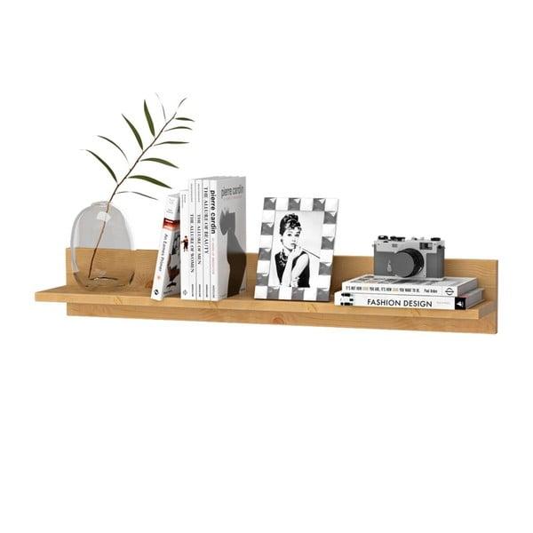 Półka z litego drewna sosnowego Støraa Sandy