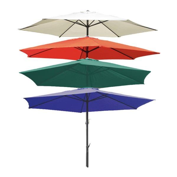 Tmavě modrý zahradní deštník ADDU Parasol, Ø 300 cm