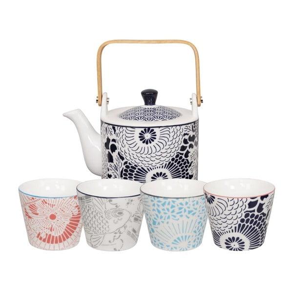 5-częściowy zestaw do parzenia herbaty Tokyo Design Studio Shiki