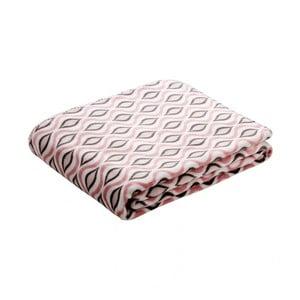 Pătură cu model Biederlack Drops Allover, 170 x 130 cm