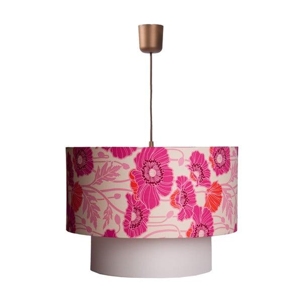 Závěsná lampa Pristine Poppys
