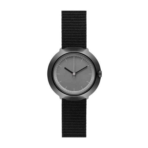 Hodinky Grey Fuji Black Nylon, 43 mm