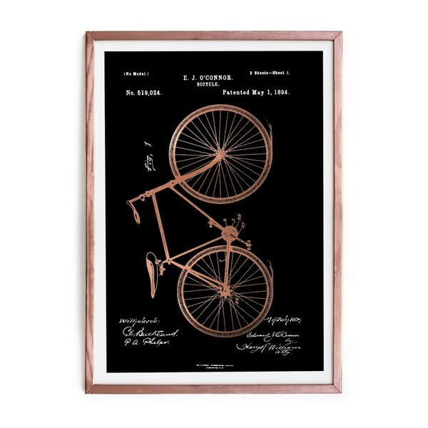 Obraz Really Nice Things Oconnor Bicycle, 40x60cm