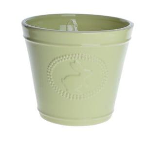 Zelený květináč Ewax Green,14,8cm