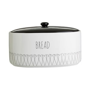 Dóza na chléb z dolomitu Premier Housewares Heartlines, 32 x 22 cm