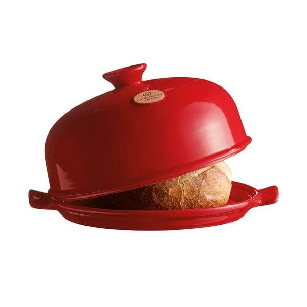 Červená kulatá forma na pečení chleba Emile Henry