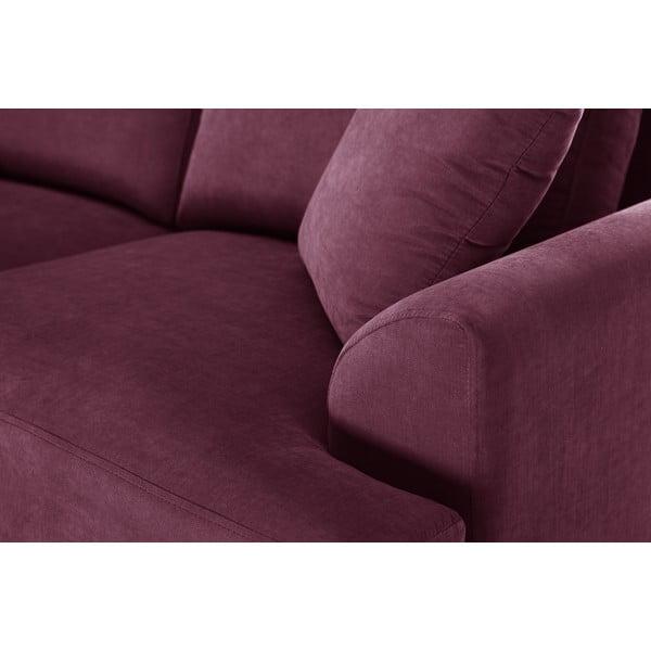 Trojdílná sedací souprava Jalouse Maison Irina, vínová