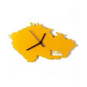 Hodiny Česko, žluté