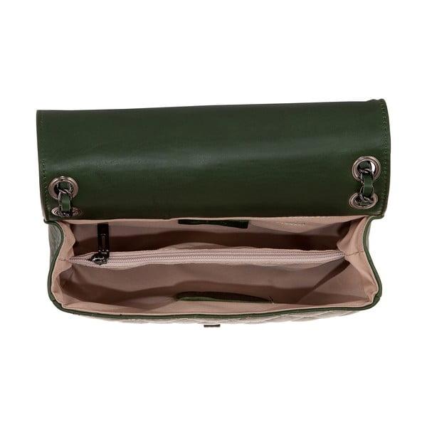 Zelená kožená kabelka Andrea Cardone 2033