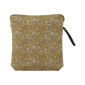 Bavlněná kosmetická taštička A Simple Mess Bodo Golden Yellow, 30x32cm