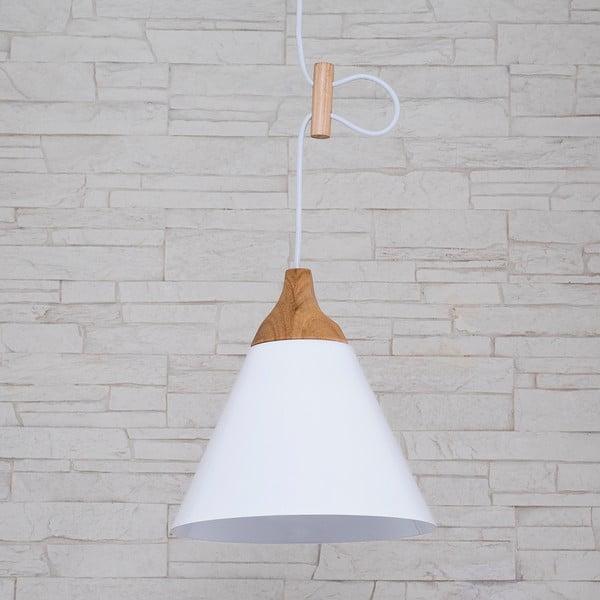 Závěsné svítidlo Tomas M, bílé