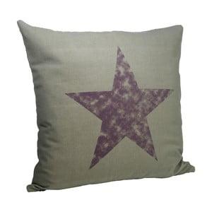Povlak na polštář Purple Star, 50x50 cm