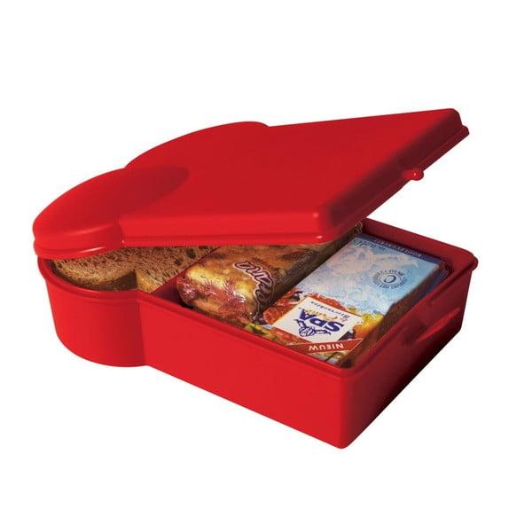 Svačinový box Toast, červený