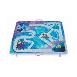 Rozkládací úložný box s hrací podložkou Domopak Frozen