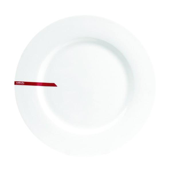 Bone China csontporcelán tányér, ø 26 cm - Sabichi