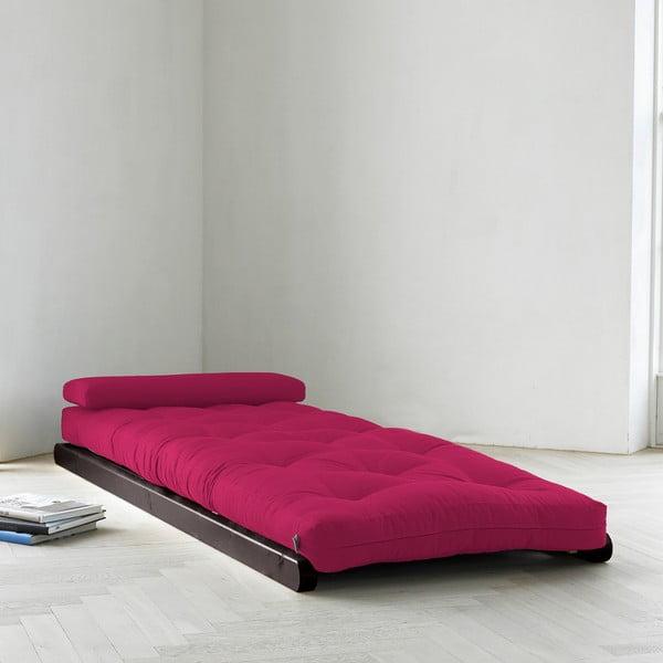 Lenoška Karup Figo, Wenge/Pink, 70 cm