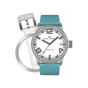 Dámské hodinky Marc Coblen s páskem a kroužkem navíc P2