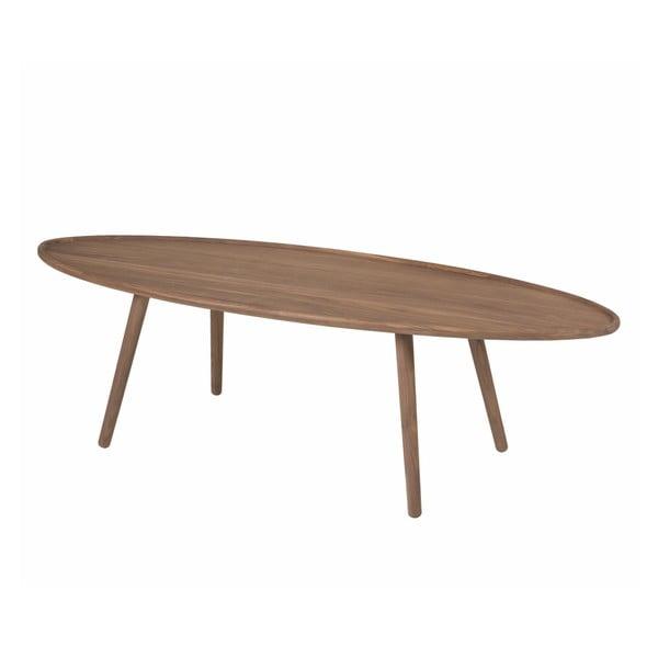 Konferenční stolek Love Coffee Walnut