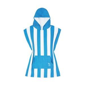 Dětská modrá rychleschnoucí osuška s kapucí DockandBay