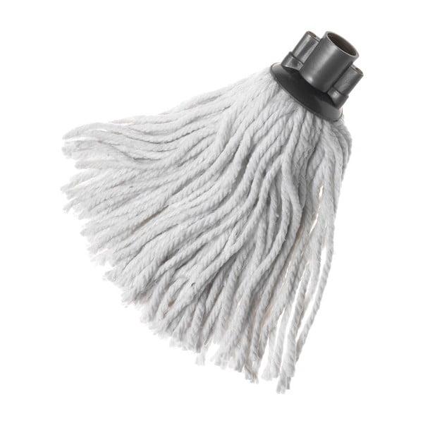 Biały wkład na mopa z bawełny Addis Samantha