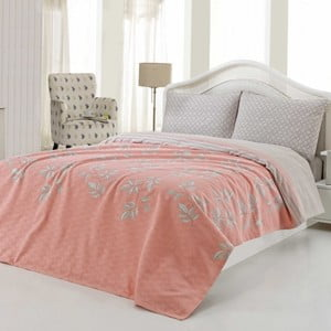 Sada přehozu přes postel a prostěradla US Polo Austin, 200x220 cm