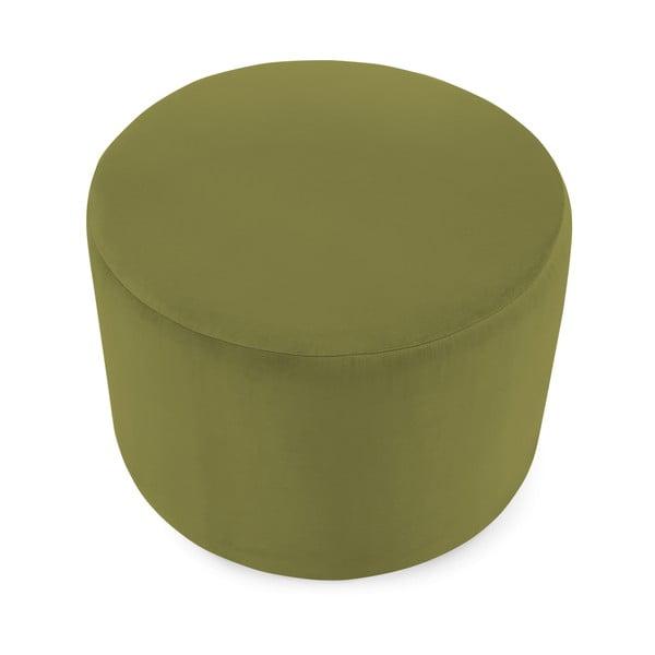 Olivově zelený puf Vivonita Jade