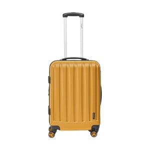 Oranžový cestovní kufr Packenger Mariana, 74 l