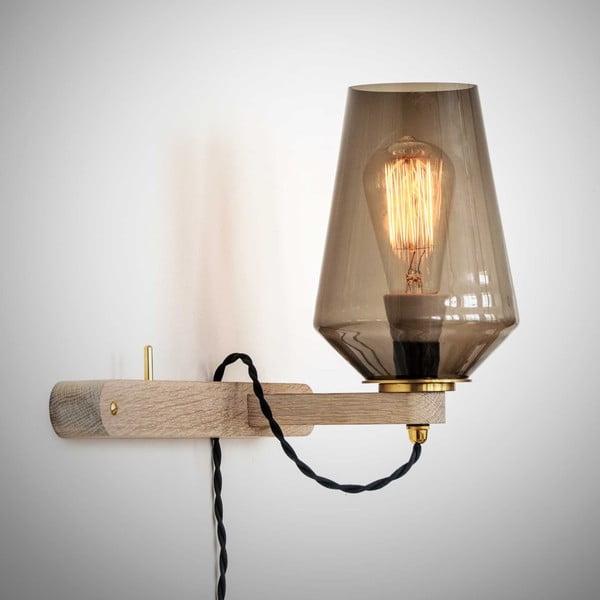 Nástěnné světlo a věšák v jednom Stick Small