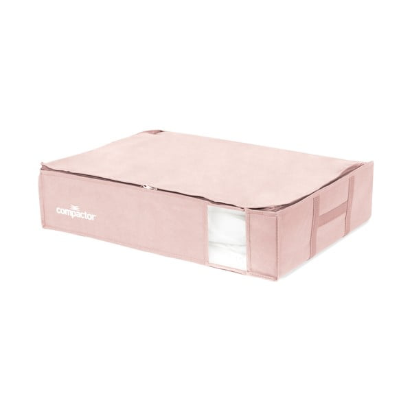 XXL Pink Edition 3D Vacuum Bag rózsaszín ágy alatti ruhatároló doboz, 145 l - Compactor