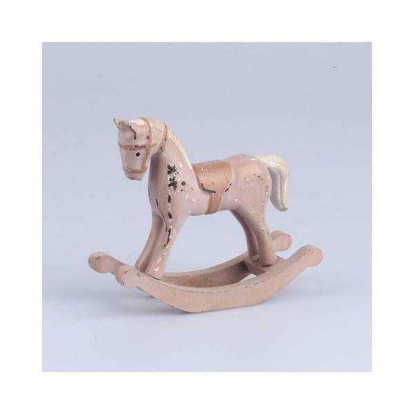 Dřevěný kůň Dakls, délka 11,5 cm