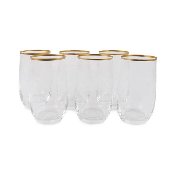 Zestaw 6 szklanek Bridget