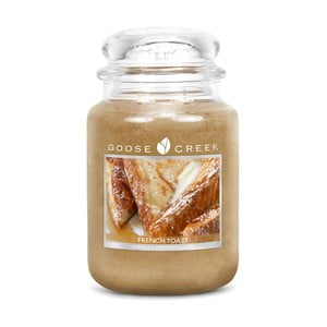 Vonná svíčka ve skleněné dóze Goose Creek Francouzský toast, 0,68 kg