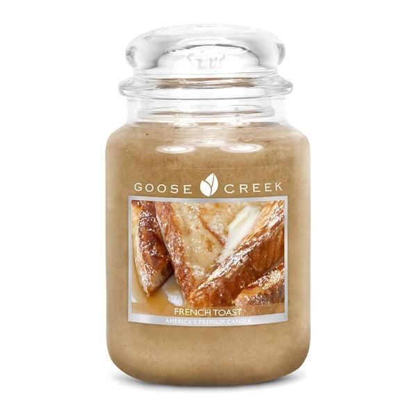 Vonná svíčka ve skleněné dóze Goose Creek Francouzský toast, 150 hodin hoření