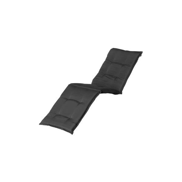 Ciemnoszara poduszka na leżak ogrodowy Hartman Casual, 193x63 cm