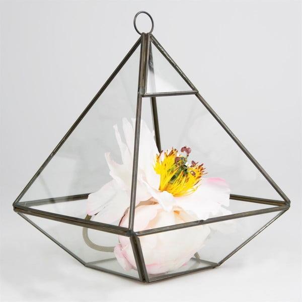 Závěsný květináč Sass & Belle Black Pyramid