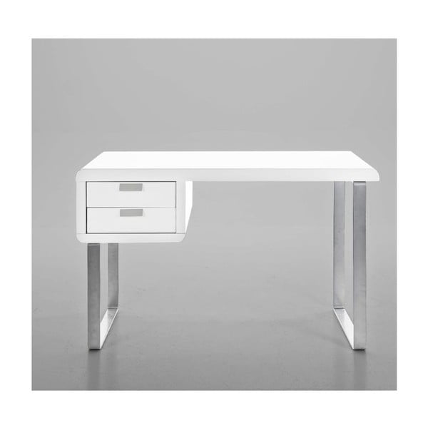 Pracovní stůl Radius, bílý