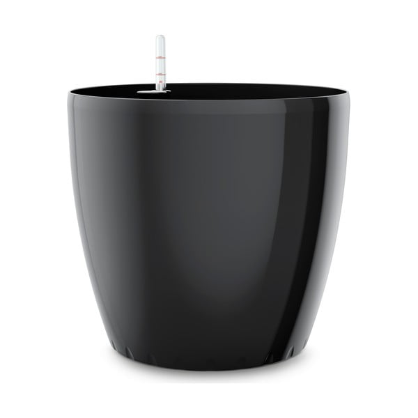 Vysoce odolný květináč Casa Brilliant 43 cm, černý