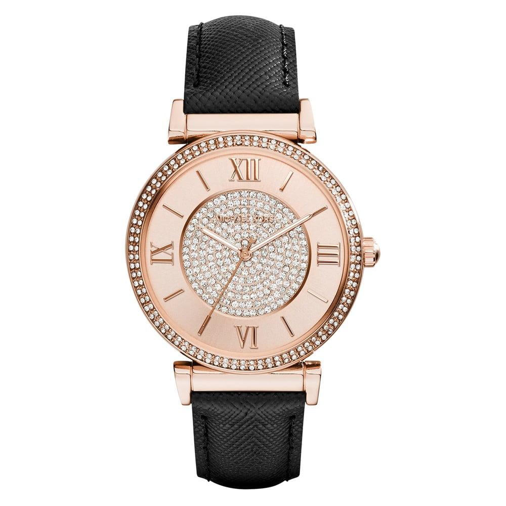bc77381c775 Dámské hodinky v barvě růžového zlata Michael Kors Britney